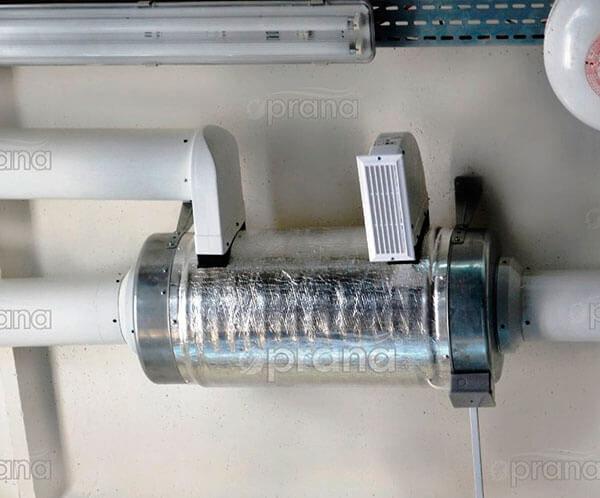 Рекуператор «Прана-250» (промышленная)