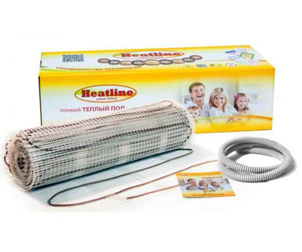 Теплый пол нагревательный мат Heatline