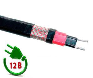 Саморегулирующийся нагревательный кабель HeatUp 17LW-12CF
