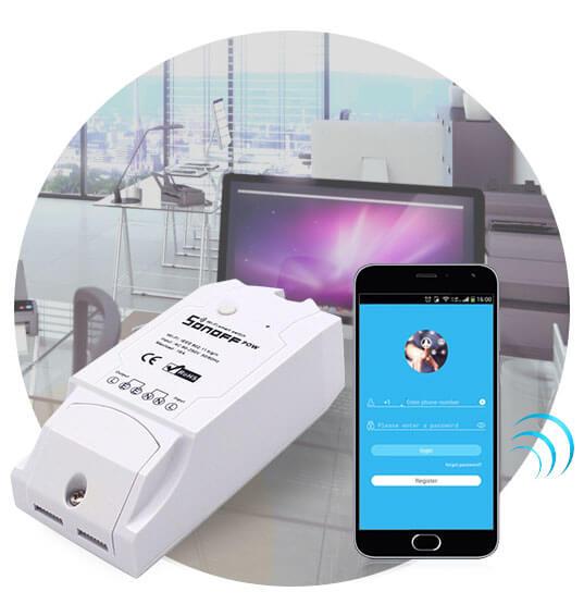 Wi-Fi реле для умного дома